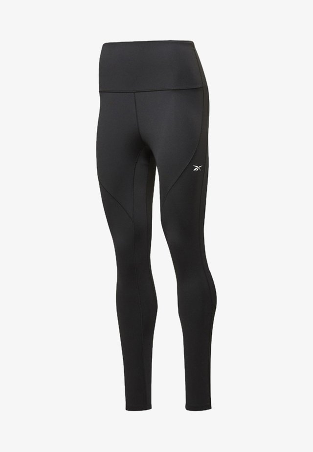 REEBOK LUX PERFORM HIGH-RISE TIGHTS - Collants - black