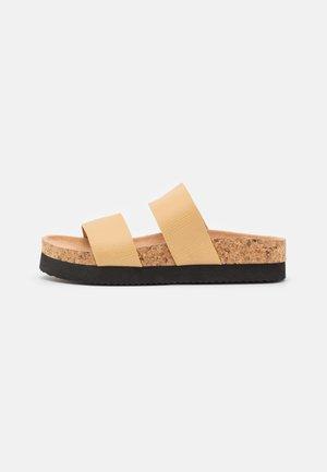 Slippers - beige/medium dusty