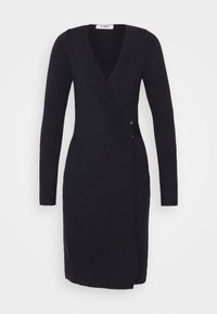 4th & Reckless - OXFORD DRESS - Etuikleid - navy - 4