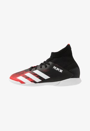 PREDATOR 20.3 IN - Indoor football boots - core black/footwear white/active red
