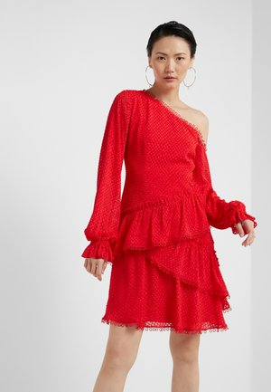 ANGELINA DRESS - Sukienka koktajlowa - tomato red