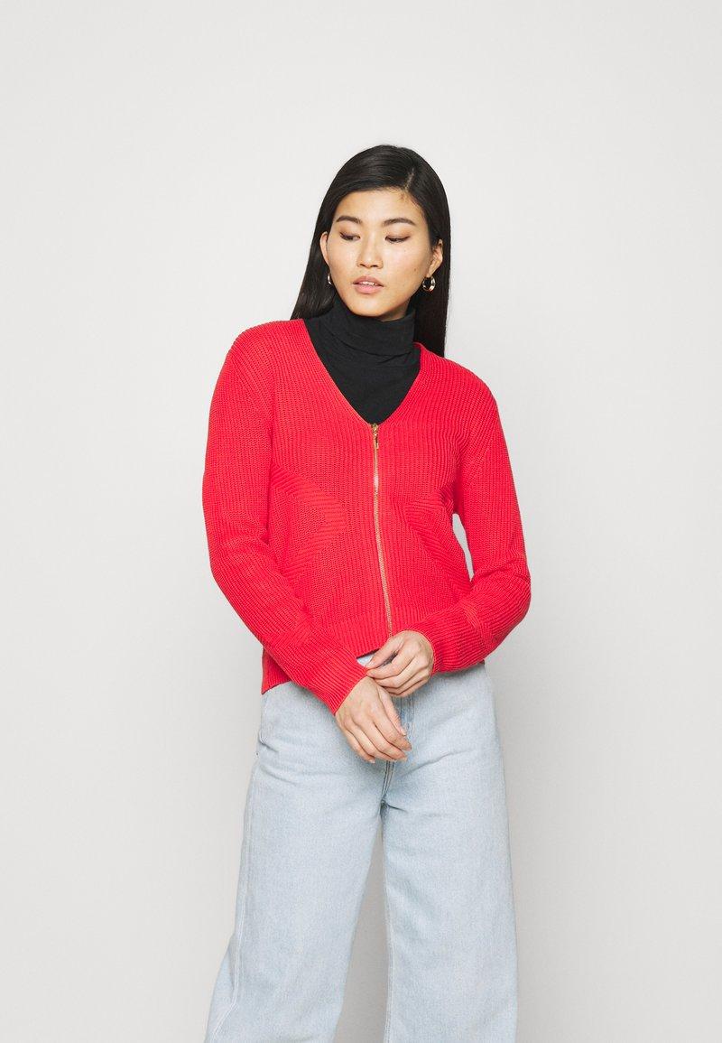 comma - LANGARM - Cardigan - red