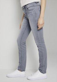 TOM TAILOR - Slim fit jeans - grey denim - 3