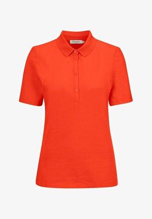 Polo shirt - poppy orange