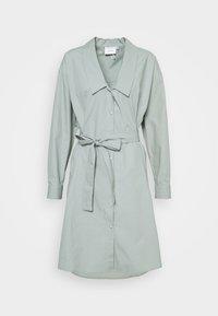 JILAN DRESS - Shirt dress - slate gray