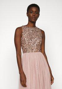 Lace & Beads Tall - PICASSO - Společenské šaty - mocha - 4