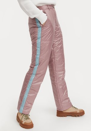 Trousers - grey pink