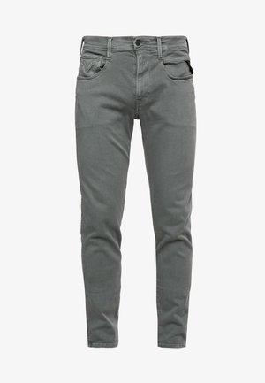 ANBASS HYPERFLEX - Slim fit jeans - military green