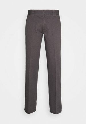 DOT WORKPANTS - Pantaloni - charcoal