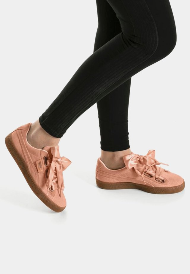 BASKET HEART - Sneakers - dusty coral