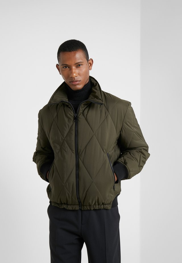 BOLAND QUILTED COATS OUTERWEAR - Light jacket - military
