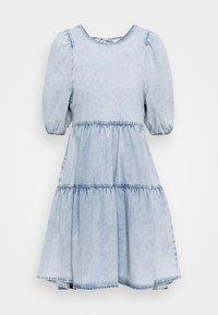 Gina Tricot - BABYDOLL DRESS - Denim dress - light blue - 5