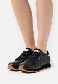 Skechers Sport - Zapatillas - black/silver glitter - 0