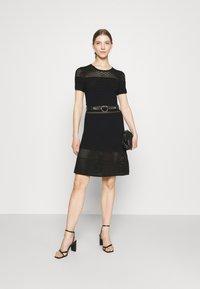 Morgan - RMVEGA - Jumper dress - noir - 1