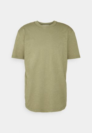 SLHRELAXHERB O NECK TEE - T-shirts basic - aloe
