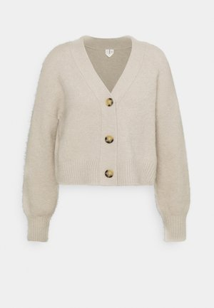 Chaqueta de punto - light sand