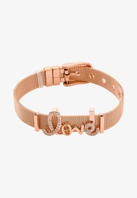 Heideman - ARMBAND LOVE - Bracelet - rose goldfarbend