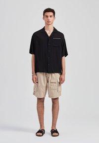 PULL&BEAR - Overhemd - black - 1