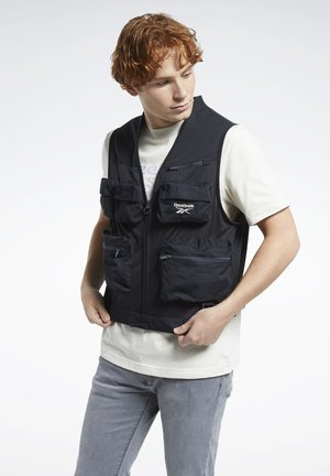CLASSICS VECTOR FISHING VEST - Veste sans manches - black
