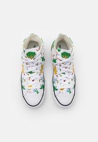 Converse - CHUCK TAYLOR ALL STAR UNISEX - Zapatillas altas - white/multicolor/black - 3