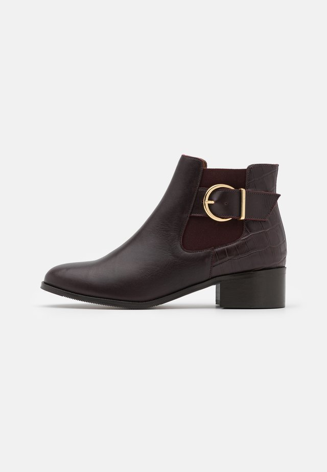Ankle boot - bordo