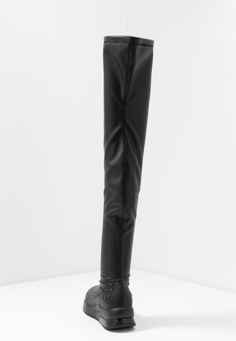 Hervir barco veredicto  Liu Jo Jeans KARLIE - Over-the-knee boots - black - Zalando.ie