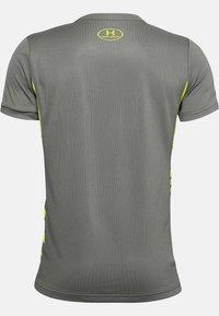 Under Armour - Print T-shirt - gravity green - 1