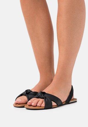 VEGAN AUBRIELLE - Sandals - black