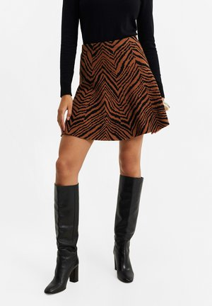 WMET JACQUARD DESSIN - A-line skirt - all-over print