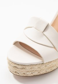 Steve Madden - SIVIAN - High heeled sandals - white - 2