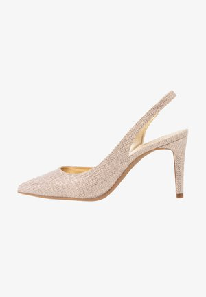 LUCILLE FLEX SLING - High heels - pale gold