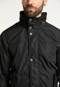 DreiMaster - Light jacket - schwarz - 3