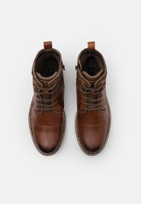 Dockers by Gerli - Šněrovací kotníkové boty - braun - 3