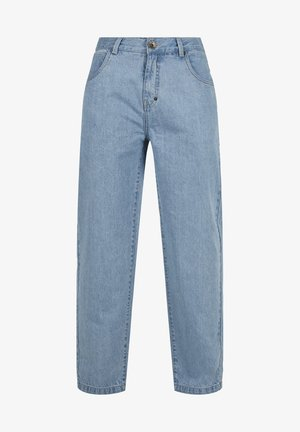 EMBROIDERY - Jeans relaxed fit - blue