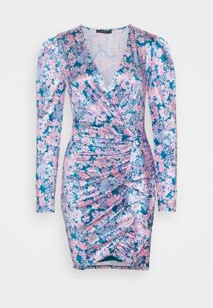 CHARMIAN DRESS - Trikoomekko - charcoal blue