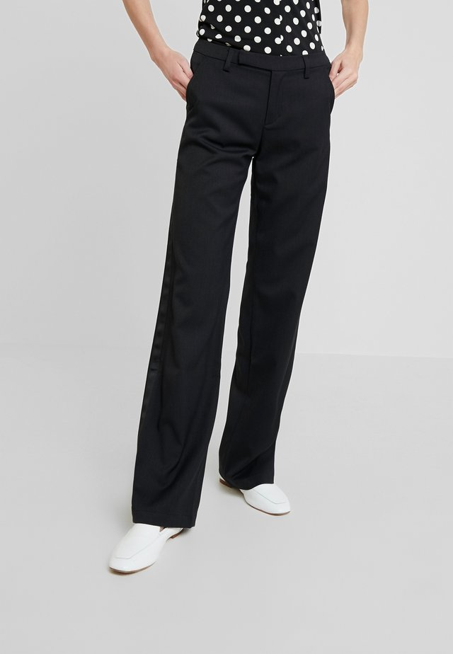 TANYA DANDY - Pantalon classique - ebony