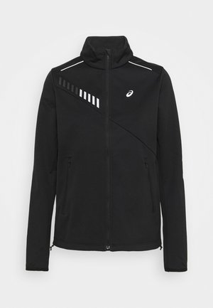 LITE SHOW WINTER JACKET - Veste de running - performance black/graphite grey