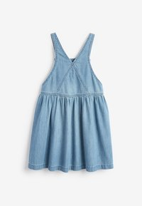 Next - PINAFORE - Denim dress - blue denim - 1