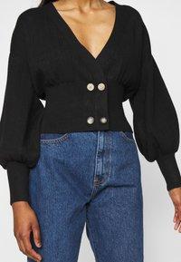 Fashion Union Petite - MEEKER - Cardigan - black - 4