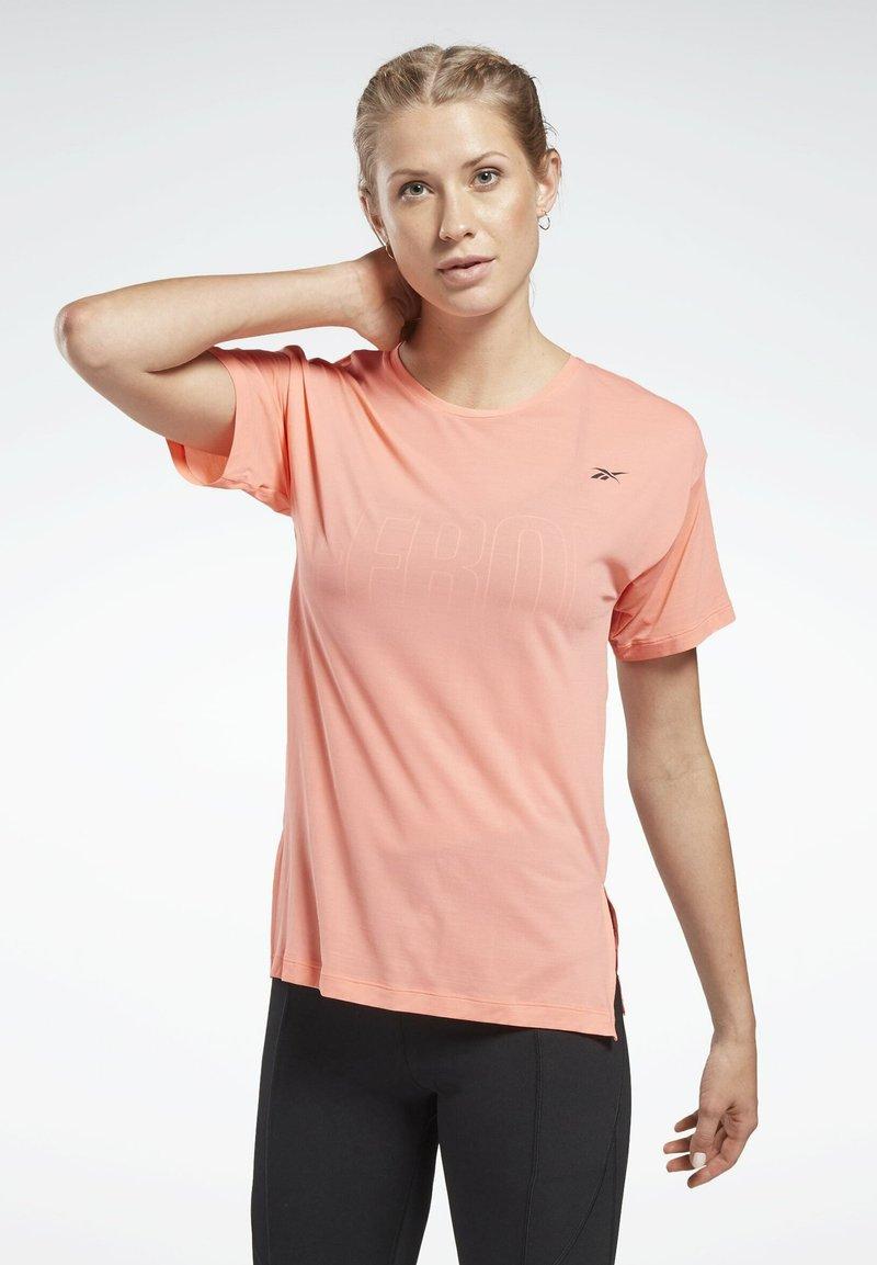 Reebok - WORKOUT READY ACTIVCHILL T-SHIRT - Basic T-shirt - red