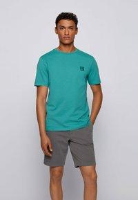 BOSS - TALES - Basic T-shirt - turquoise - 0