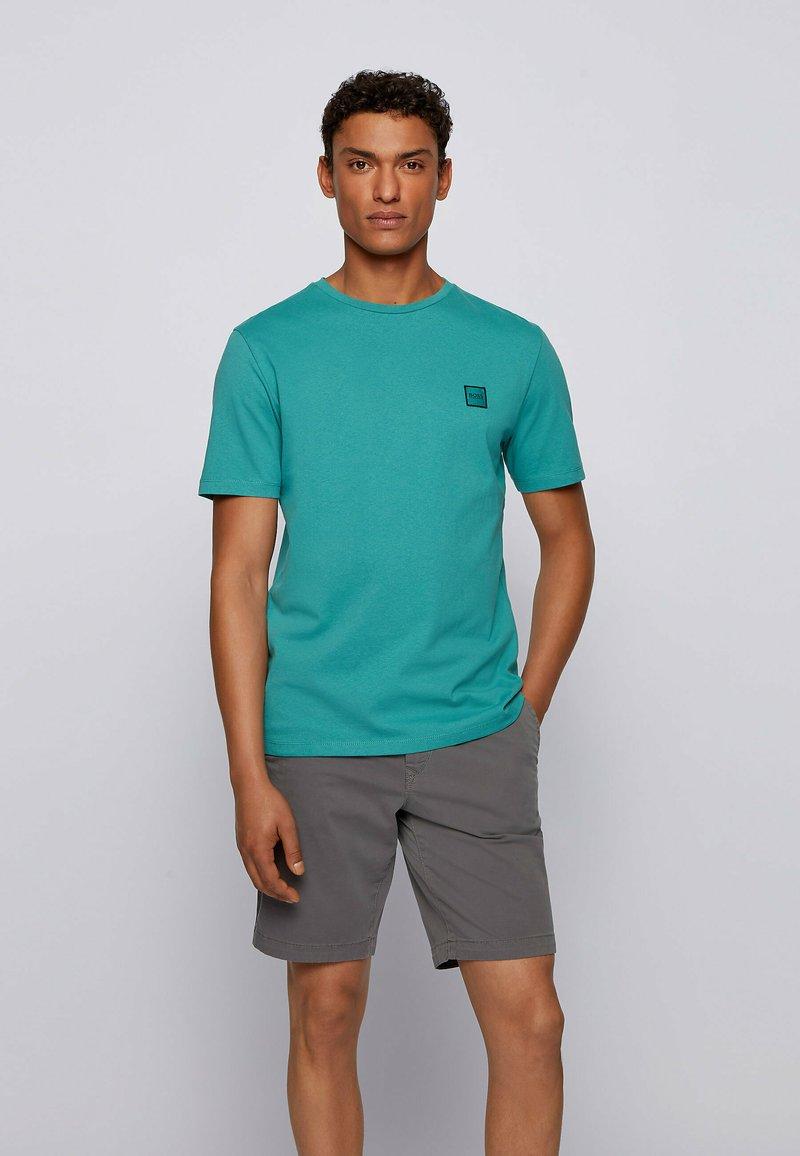 BOSS - TALES - Basic T-shirt - turquoise
