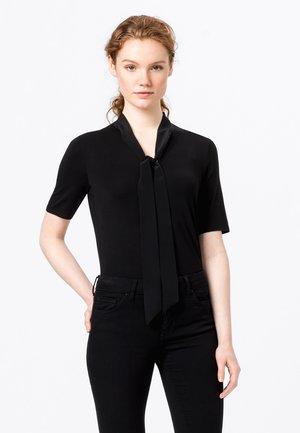 SEIDENSCHLUPPE - Basic T-shirt - schwarz