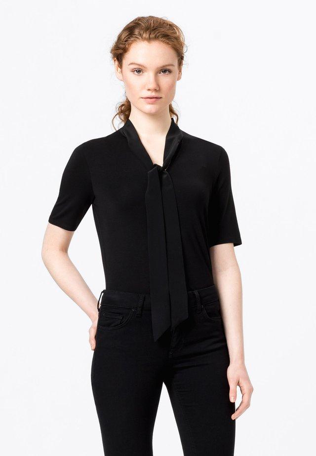 SEIDENSCHLUPPE - T-shirt basique - schwarz