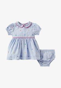 Boden - Day dress - bunt, gestickte tupfen - 0