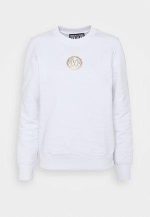 Sweatshirt - white/gold