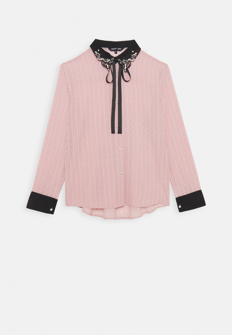 Sister Jane - ALL THE CRAZE BOW - Button-down blouse - pink