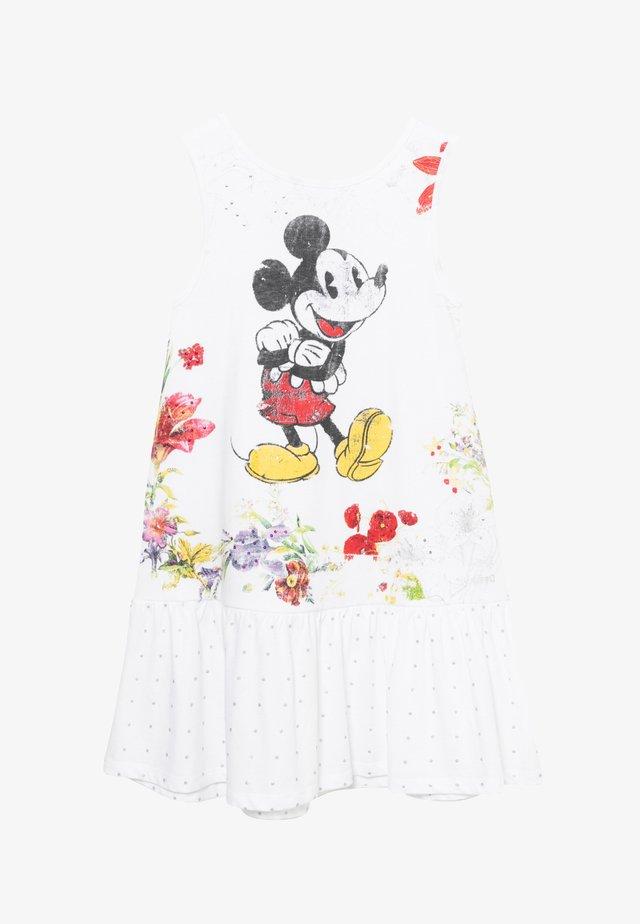 MICKEY - Robe d'été - white