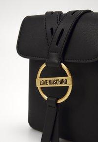 Love Moschino - BORSA - Skulderveske - black - 4