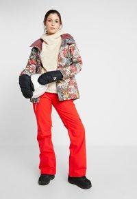Burton - LYNX HOOD - Fleece jumper - creme brulee - 1